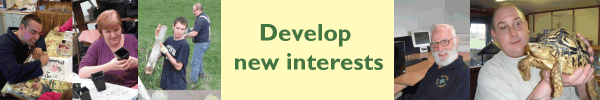 Develop new interests
